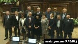 ԱԺ նիստերի դահլիճ, 13-ը ապրիլի, 2017 թ․