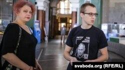 Вольга Мікалайчык і Зьміцер Дашкевіч, архіўнае фота