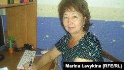 Бахыт Шужебаева, жительница города Семей. 21 июня 2012 года.