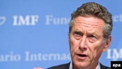 Olivier Blanchard, the IMF's chief economist
