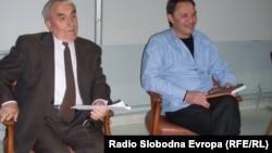 """Промоција на книгата """"Соработката на народноослободителните движења пд Вардарскиот, Егејскиот и Пиринскиот дел на Македонија во Втората светска војна"""" од Александар Литовски, доктор по историја."""