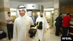 وصول الفريق الكويتي لكرة القدم الى مديتة اربيل