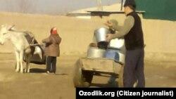 Özbəkistanda su qıtlığı.