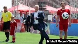 Владимир Путин и Дмитрий Булыкин