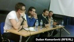 Ivan Radenković (L), Boško Petrov, Teodor Celakoski, Mijat Stanić