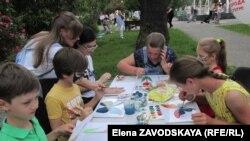 Мастер-класс Екатерины Гуськовой в парке Баграта Шинкуба