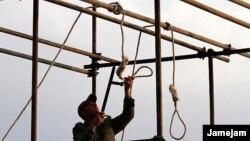 Ирандагы өлүм жазасына тартылгандар үчүн сыйыртмак