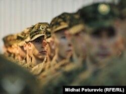 Vojnici na Danu Oružanih snaga BiH - ilustracija