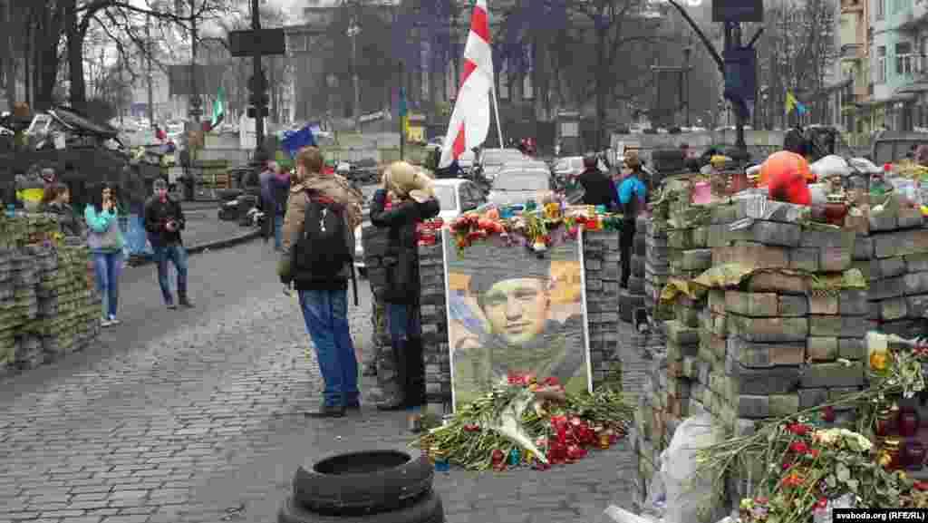 Портрет Михайла Жизневського на Майдані