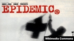 """Epidemiya"" filminin posteri."