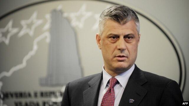 Kosovar Prime Minister Hashim Thaci