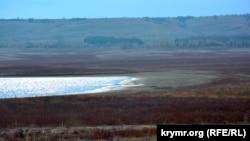 Крым, состояние Тайганского водохранилища, 22 октября 2016 года