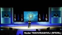 Презентация общественного движения состоялась в зале Тбилисской госфилармонии