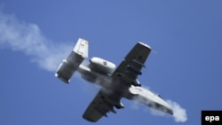 FILE: A U.S. Air Force A-10. One of the aircraft used in the Afghanistan.