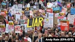 Londonda Trump-a qarşı etiraz