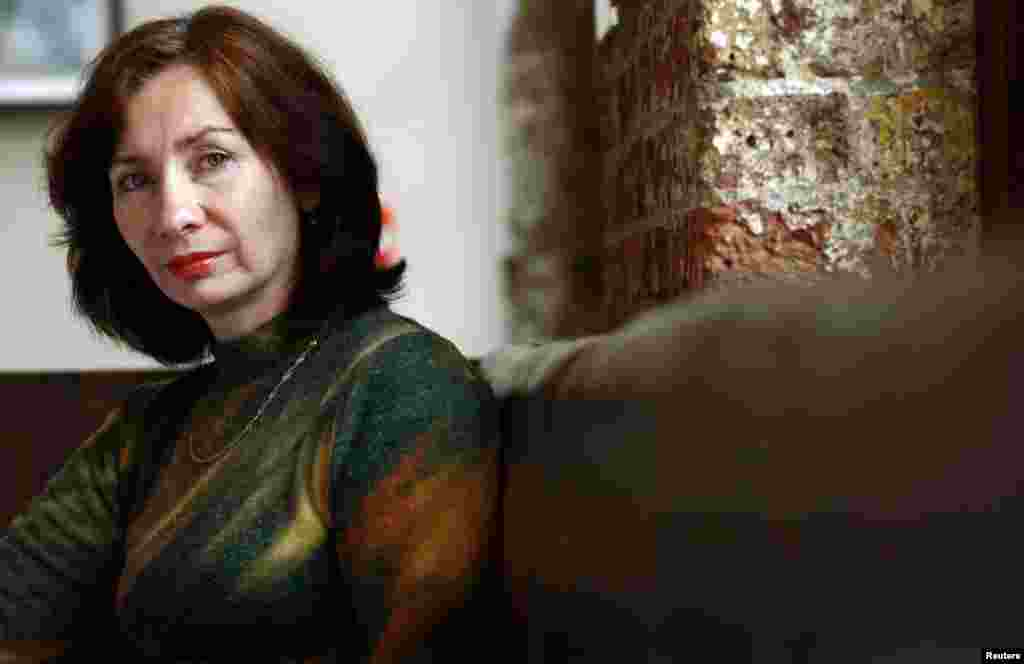 "The award-winning journalist and human rights activist Natalia Estemirova was abducted in Grozny in July 2009 and was found shot dead some hours later. At the time, she was said to have been working on ""extremely sensitive"" cases of human rights abuses in Chechnya. (Reuters/Dylan Martinez)"