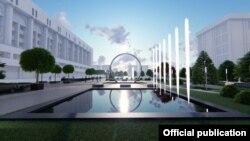 «Бишкекглавархитектура» разработала эскизный проект сквера