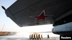რუსეთის სამხედრო ავიაბაზა კრასნოიარსკთან