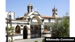 """كاتدرائية سيدة النياح وتعرف أيضًا باسم """"كنيسة الزيتون"""" ـ دمشق القديمة"""