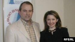 Виктор Медведчук и Юлия Тимошенко, 2004 год