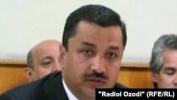 Tajikistan,Dushanbe -- Asadullo Rahmonov, The head of Tajik radio and tv comitte, 02Jun2011