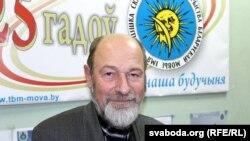Старшыня Таварыства Беларускай мовы (ТБМ) Алег Трусаў.