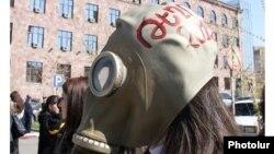Jedan od protesta aktivista za zaštitu okoliša