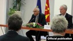 Stefan Sanino në Maqedoni