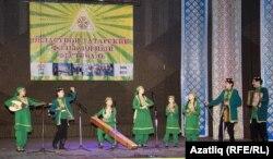 Өлкә фольклор фестивалендә