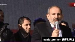 Исполняющий обязанности премьер-министра Армении, лидер блока «Мой шаг» Никол Пашинян
