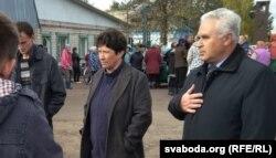 Старшыня Акцябрскага раённага аб'яднаньня прафсаюзаў Сяргей Зарычны
