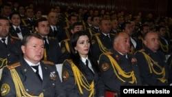 Празднование дня милиции в Душанбе, 2014 год.