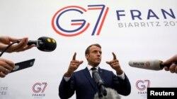 مکرون میگوید مسئولیت فرانسه این است که «نقش یک قدرت توازنبخش» را ایفا کند