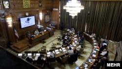 تصویری از نشست معمول شورای نگهبان شهر تهران