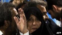فاطمه هاشمی، فرزند اکبر هاشمی رفسنجانی، رئیس مجمع تشخیص مصلحت نظام