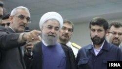 افتتاح مرکز کنترل ترافیک راهآهن جنوب در اهواز بهوسیله حسن روحانی رئیس جمهور در روز یکشنبه ۲۳ آبان