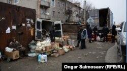 Уличная торговля в городе Байконкур. Иллюстративное фото.