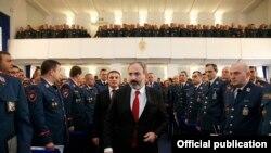 Armenia - Prime Minister NIkol Pashinian meets with senior police officers, Yerevan, January 26, 2019.