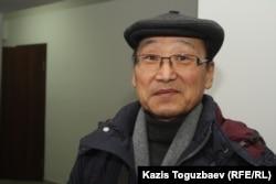 Геннадий Нам, адвокат генерала КНБ Абдырзака Ильясова. Алматы, 30 декабря 2013 года.