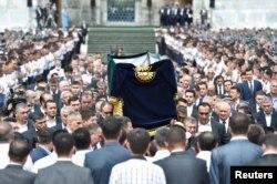 Траурная церемония в Самарканде, 3 сентября 2016