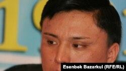 Қазақстан Кеден комитетінің ресми өкілі Ержан Байтана. Астана, 8 желтоқсан 2010 жыл.