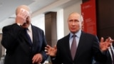 Александр Лукашенко и Владимир Путин в Сочи 15 февраля 2019 года