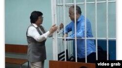 Роза Отунбаева и Омурбек Текебаев.