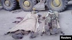 Тела солдат, погибших в ходе спецоперации в Горно-Бадахшанской автономной области.