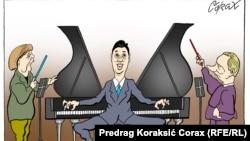 """""""Conductors,"""" by Predrag Koraksic Corax"""