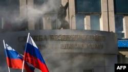 Захват здания СБУ в Луганске