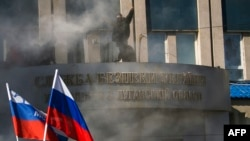 Штурм Адміністрацыі ў Луганску