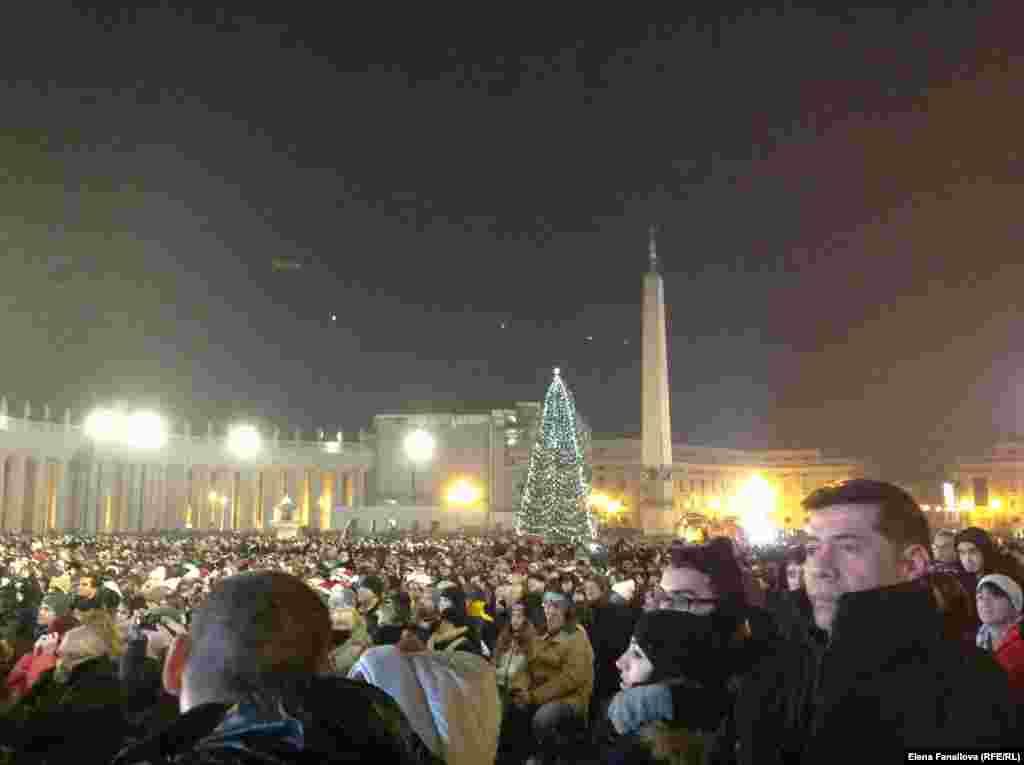 Золото Рима – его люди. Рождественская проповедь Папы Франциска