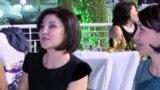Усманов станцевал с женой Мирзияева