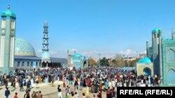 برگزاری جشن نوروز در ولایت بلخ